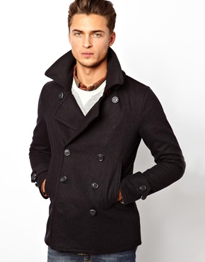 Superdry Slim Pea Coat