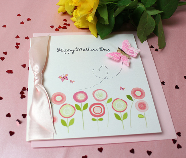 Made with Love Mothers Day Cards