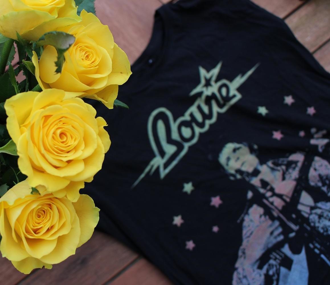 Bowie-Tshirt