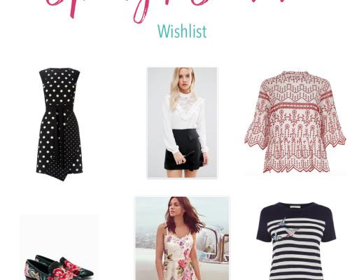 Spring Summer Wishlist