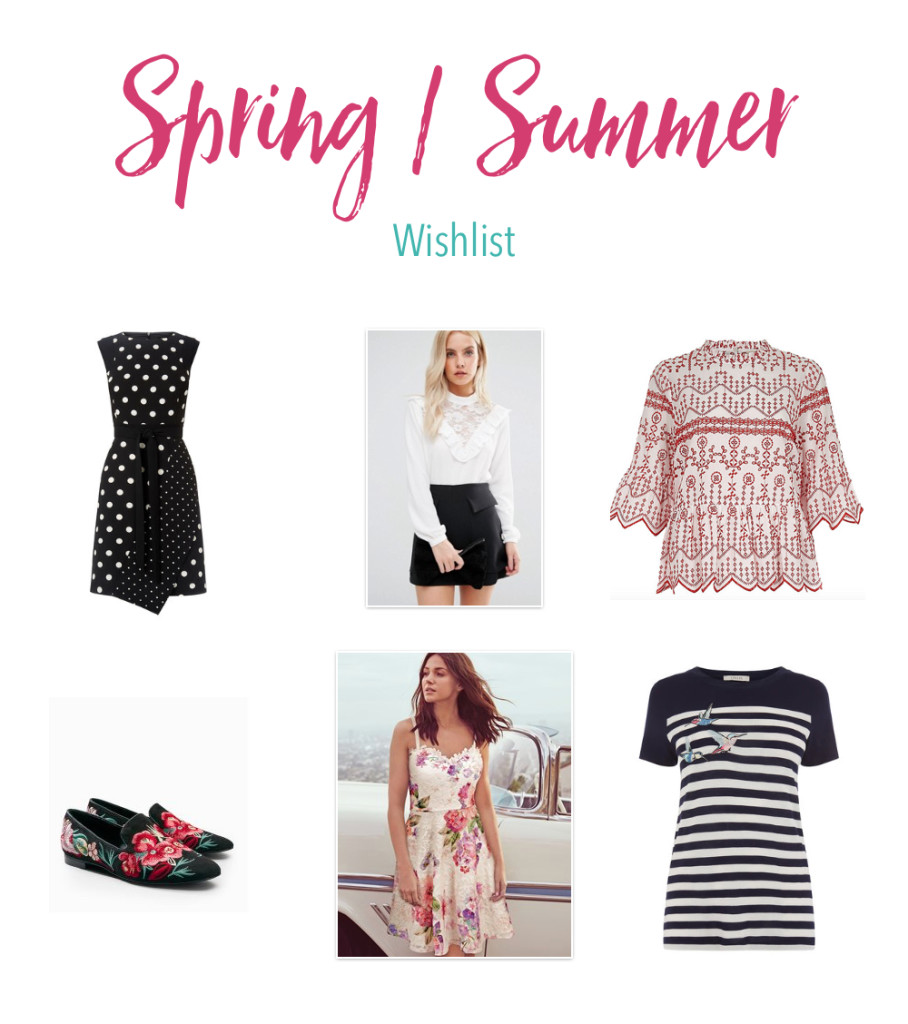 Spring Summer Wishlist