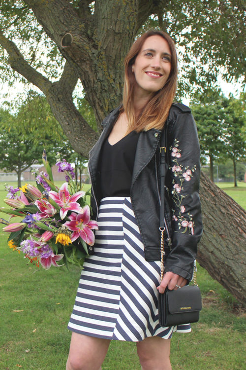 Blossoming Gifts bouquet and an outfit of the day!