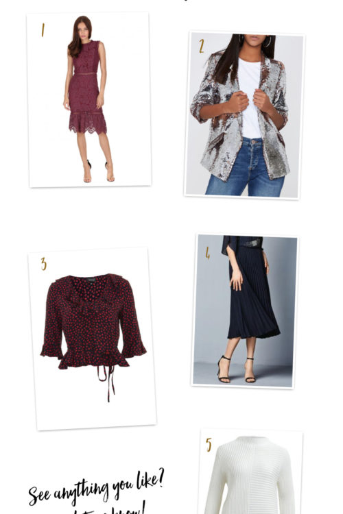 The Wednesday Going Out Wishlist!