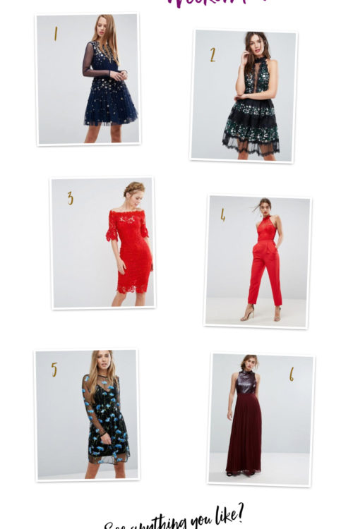 The Party Outfit Wednesday Wishlist!