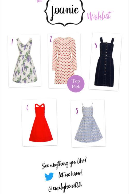 Joanie Clothing Wish List!