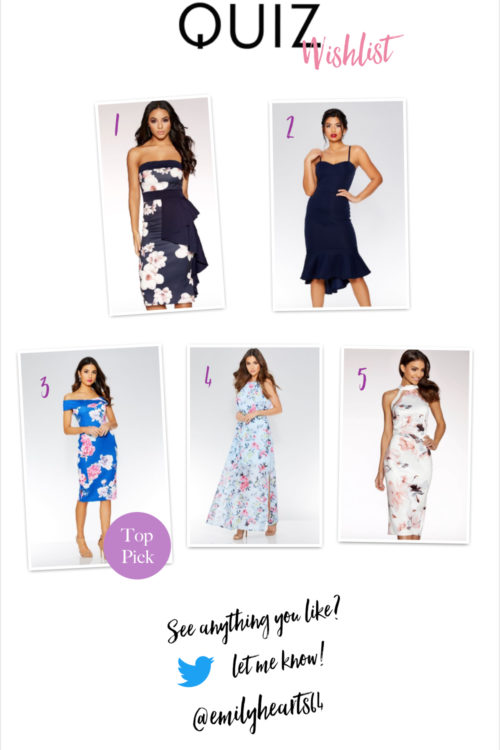 The Quiz Wedding Guest Outfit Wishlist!