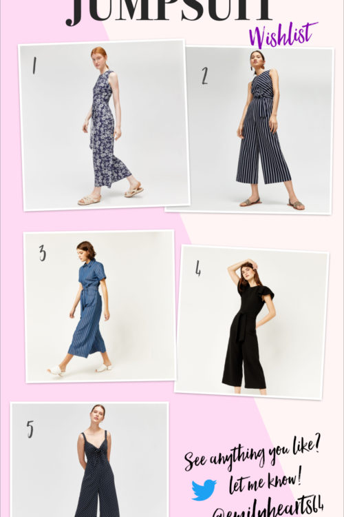 The Warehouse Jumpsuit Wishlist!