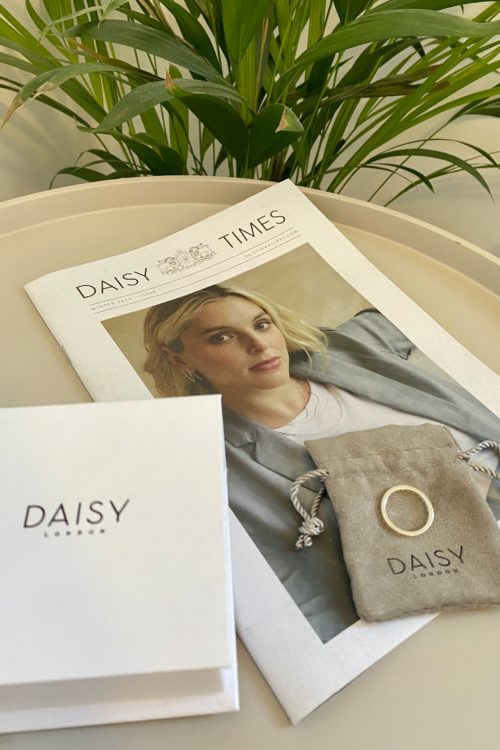 Daisy Jewellery – Artisan Stamped Stacking Ring